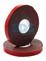 Двухсторонний скотч, красный, 6мм, 5метров  REXANT