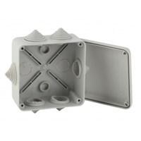 ЭРА Коробка распаячная открытой установки КОРv 100х100х50мм на винтах 6 гермовводов IP55 (48/1200)