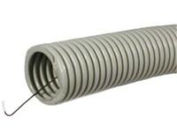 ЭРА Труба гофрированная ПВХ (серый) Строительная d 16мм с зонд. легкая 100м (20)