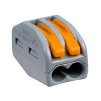 Коннектор  GTER1-02 клемма универсальная монтажная 2-проводная (50/2500)