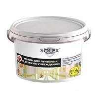 Эмаль акриловая SOLEX для лечебных и детских учреждений premium 2,5кг /4