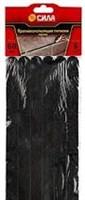 СИЛА Противоскользящие полоски TAS72-10 60 см. 6 шт., (чёрные)