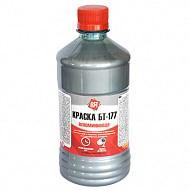 Краска алюминиевая БТ-177 серебристая 0,5л пэт Царицынские краски